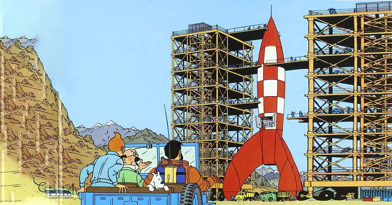 SpaceX Tintin