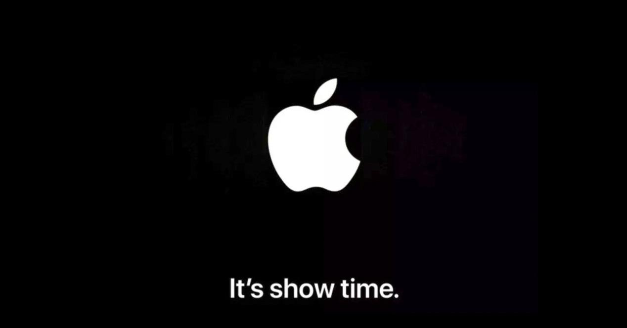 it's show time apple