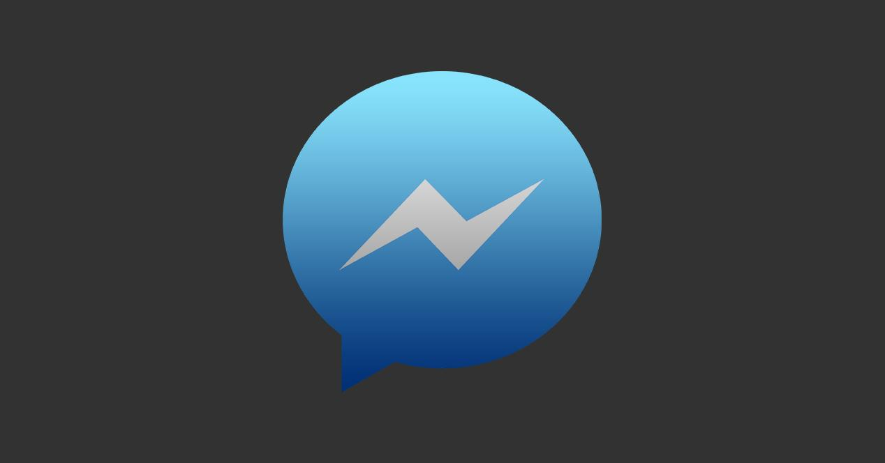 Facebook messenger oscuro