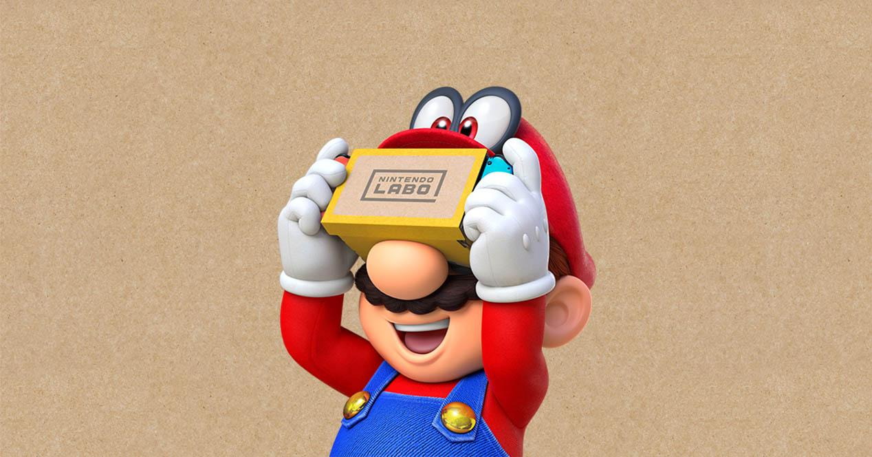 Nintendo Switch VR Mario