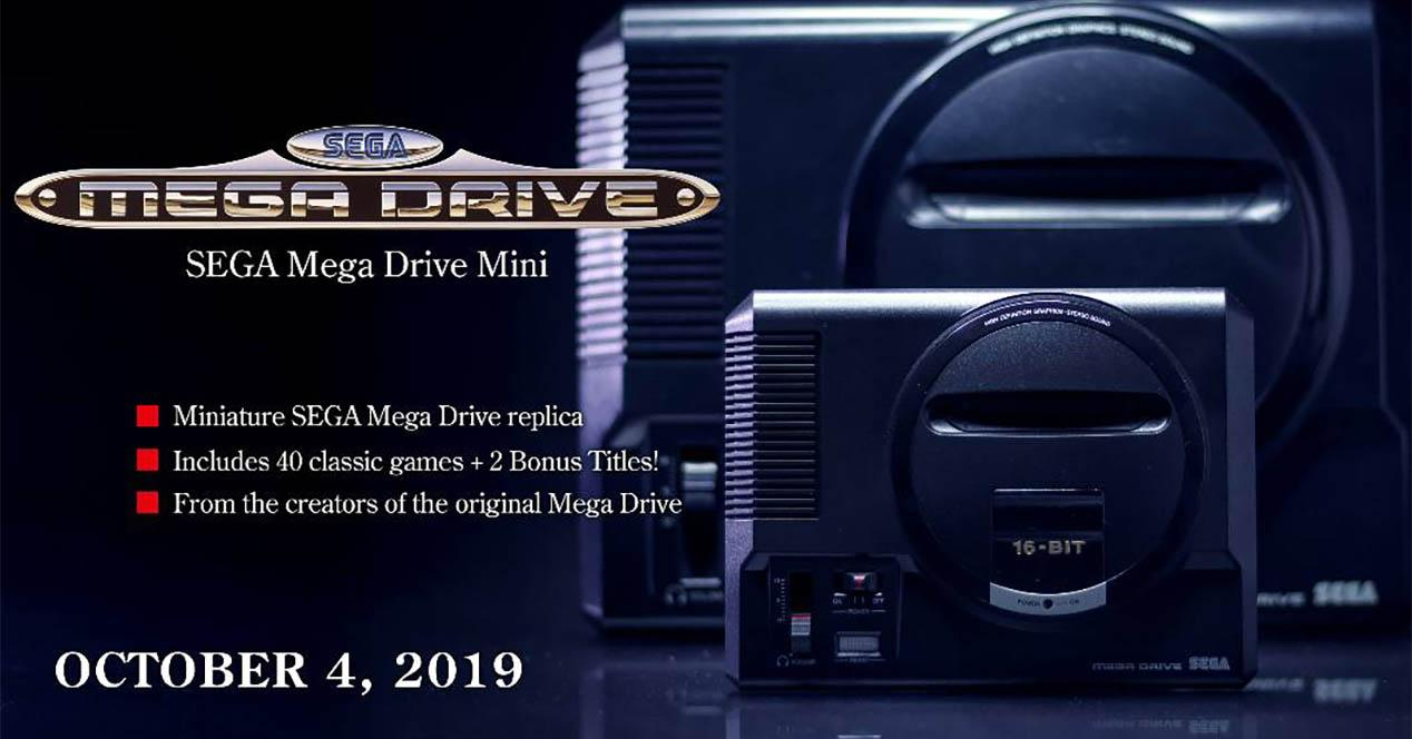 Mega Drive Mini retrasada