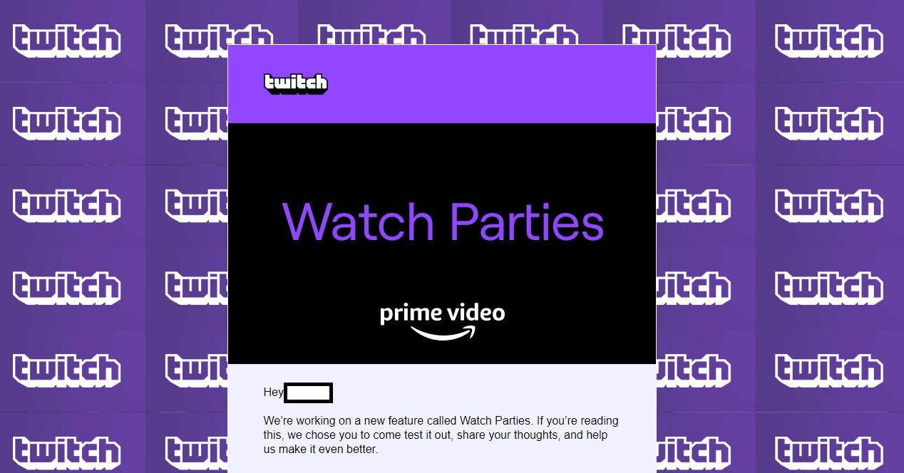 Twitch y amazon Prime Video