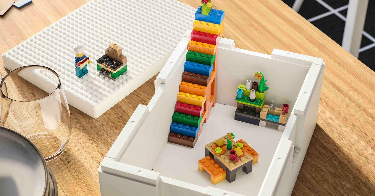 Picture of: Ny Ikea Og Lego Collection Bygglek Til Opbevaring Itigic