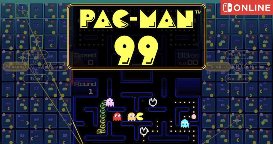 Pac-Man 99 and his battle royale come to Nintendo Switch Online for free