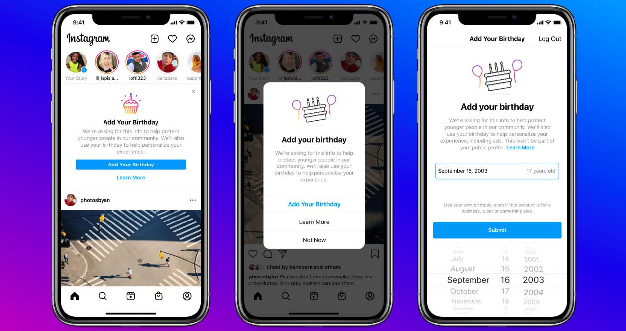 Instagram will count the candles on your cake to guess your age